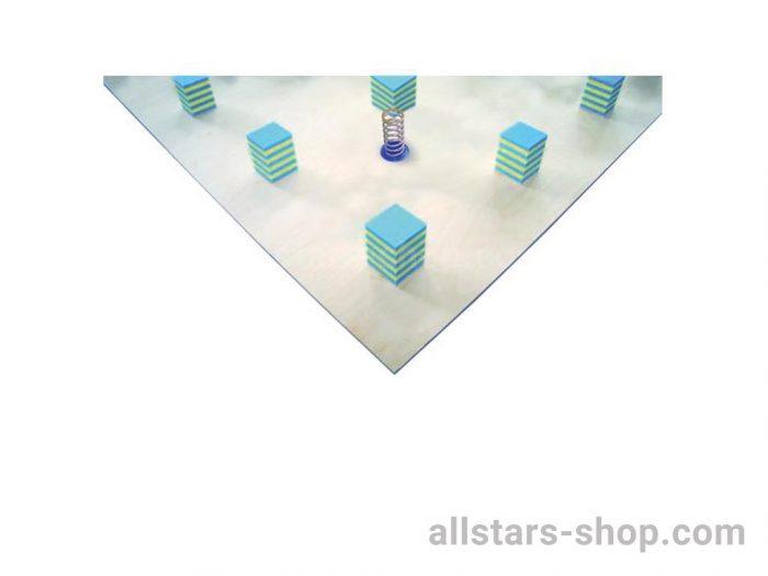Bänfer Bodenturnfläche Unterkonstrukion mit Stahlfedern