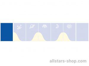 Bänfer Wandmatte blau