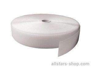Bänfer Markierungsband Haftband für Bodenturnfläche, 5 cm breit, weiß, lfd. Meter